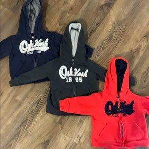 OshKosh B'Gosh Logo Sweatshirt Bundle